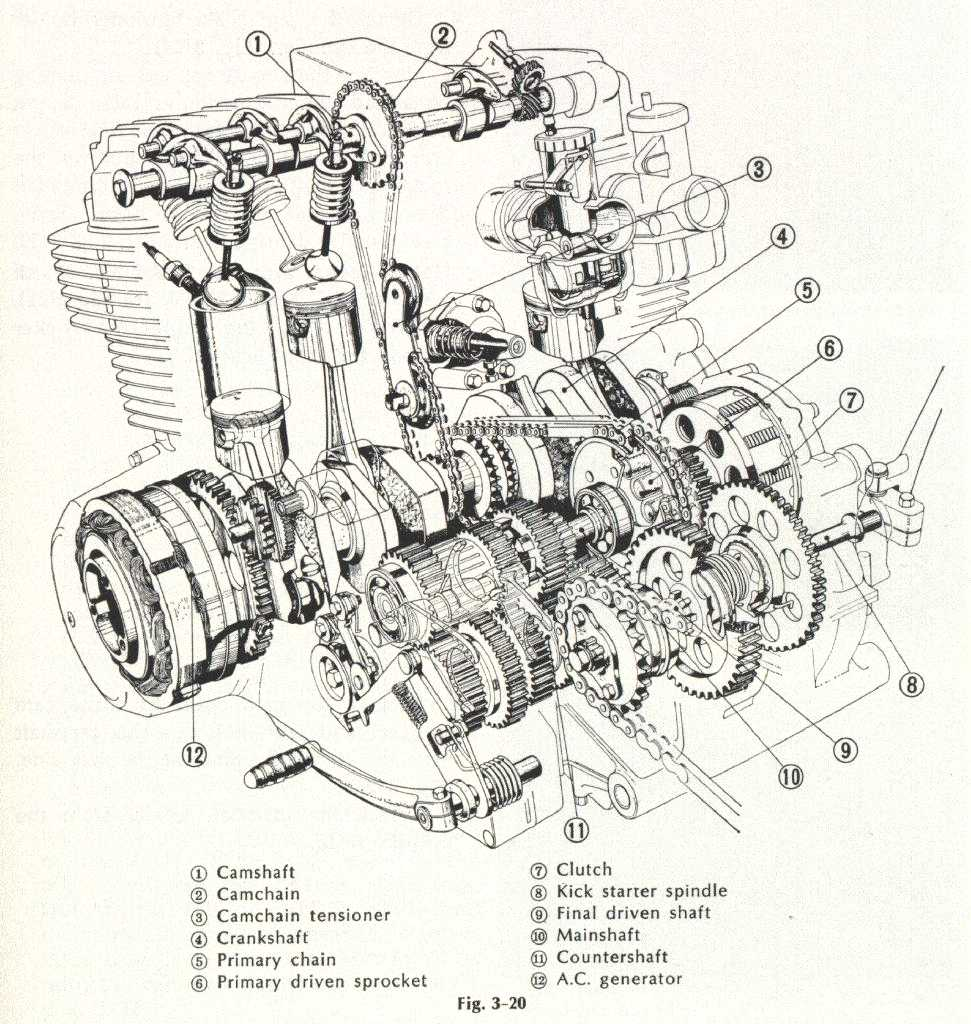 honda k series engine diagram