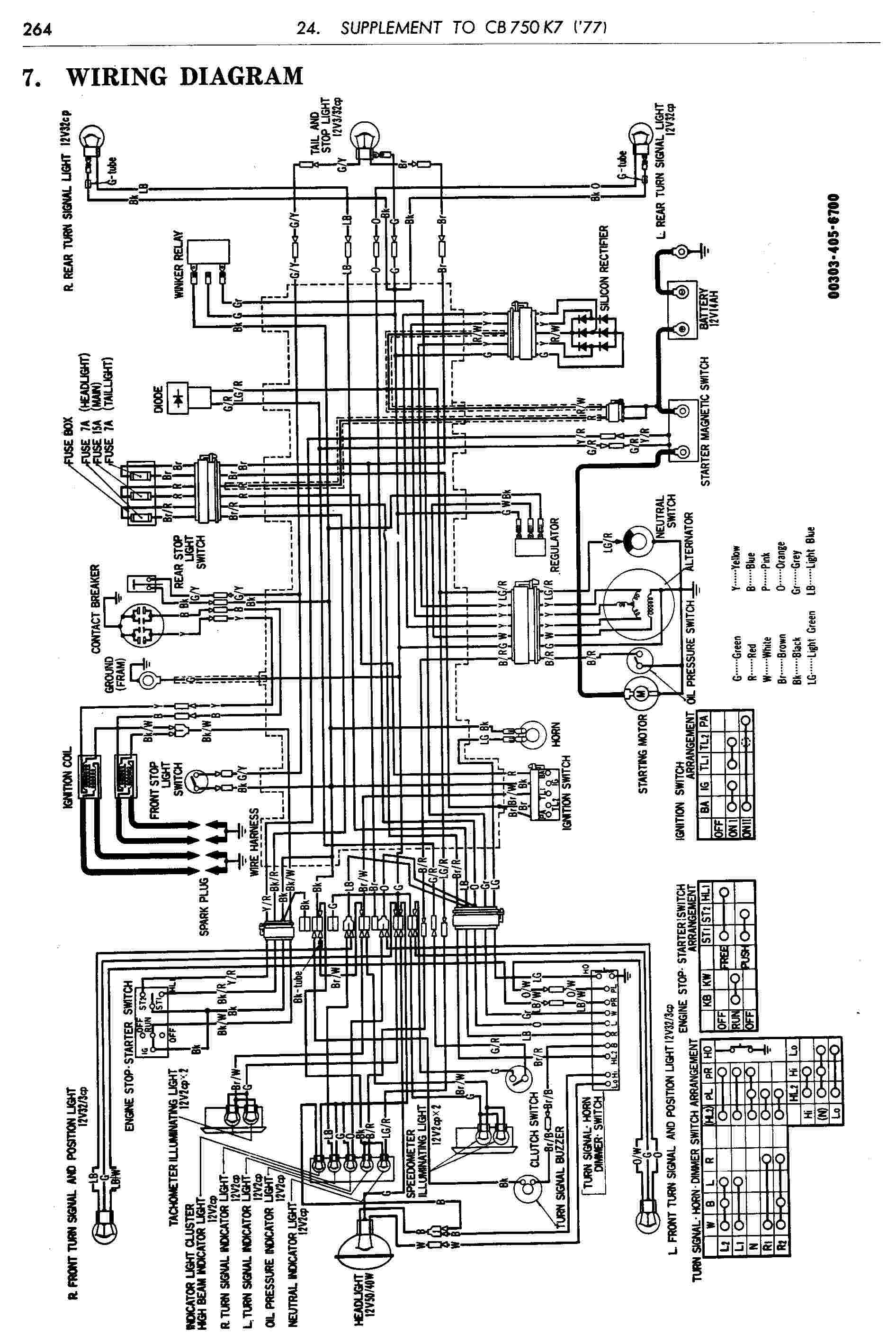 Honda Cb500 Four Wiring Diagram
